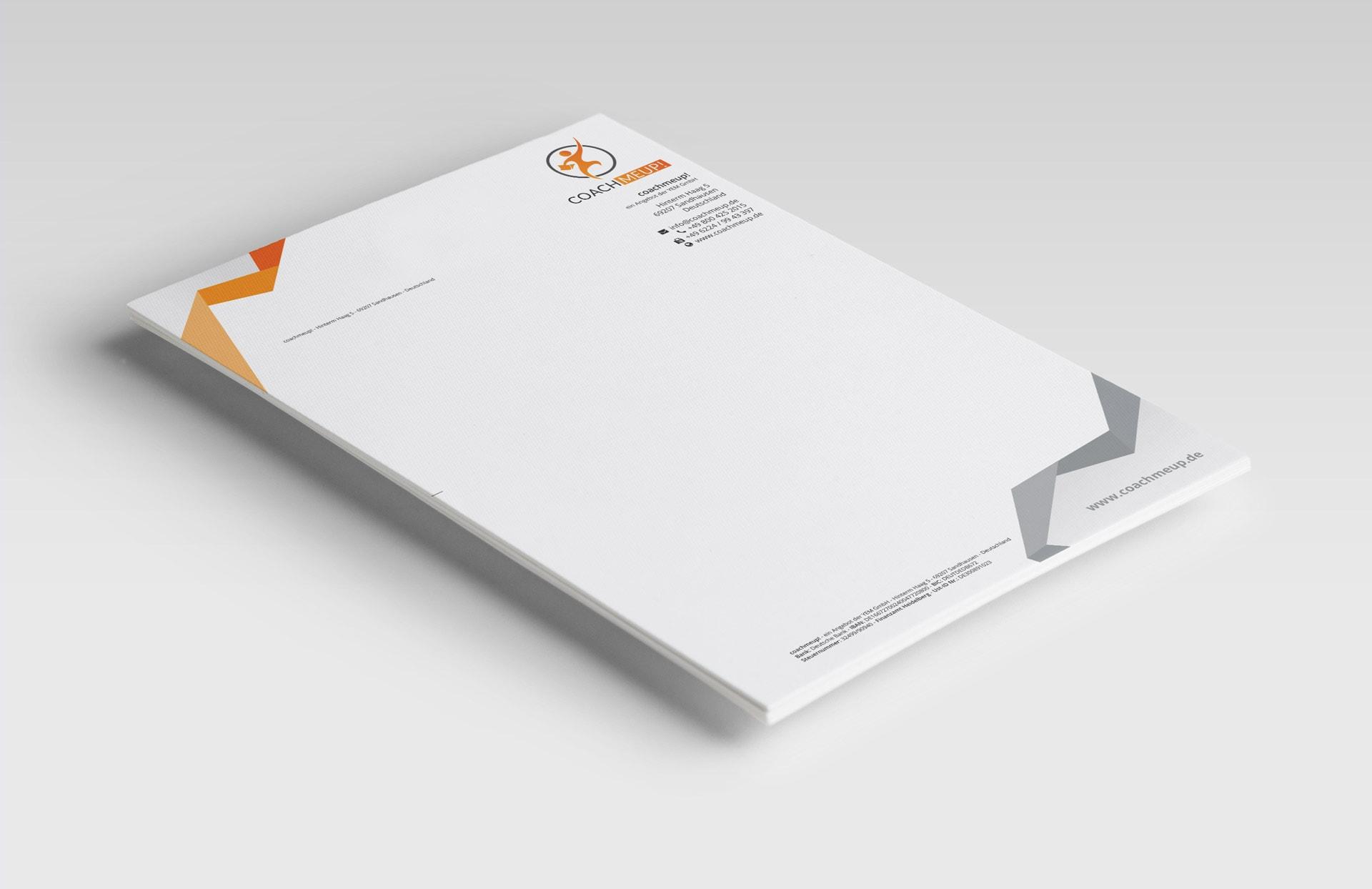 YEM GmbH Briefpapier A4