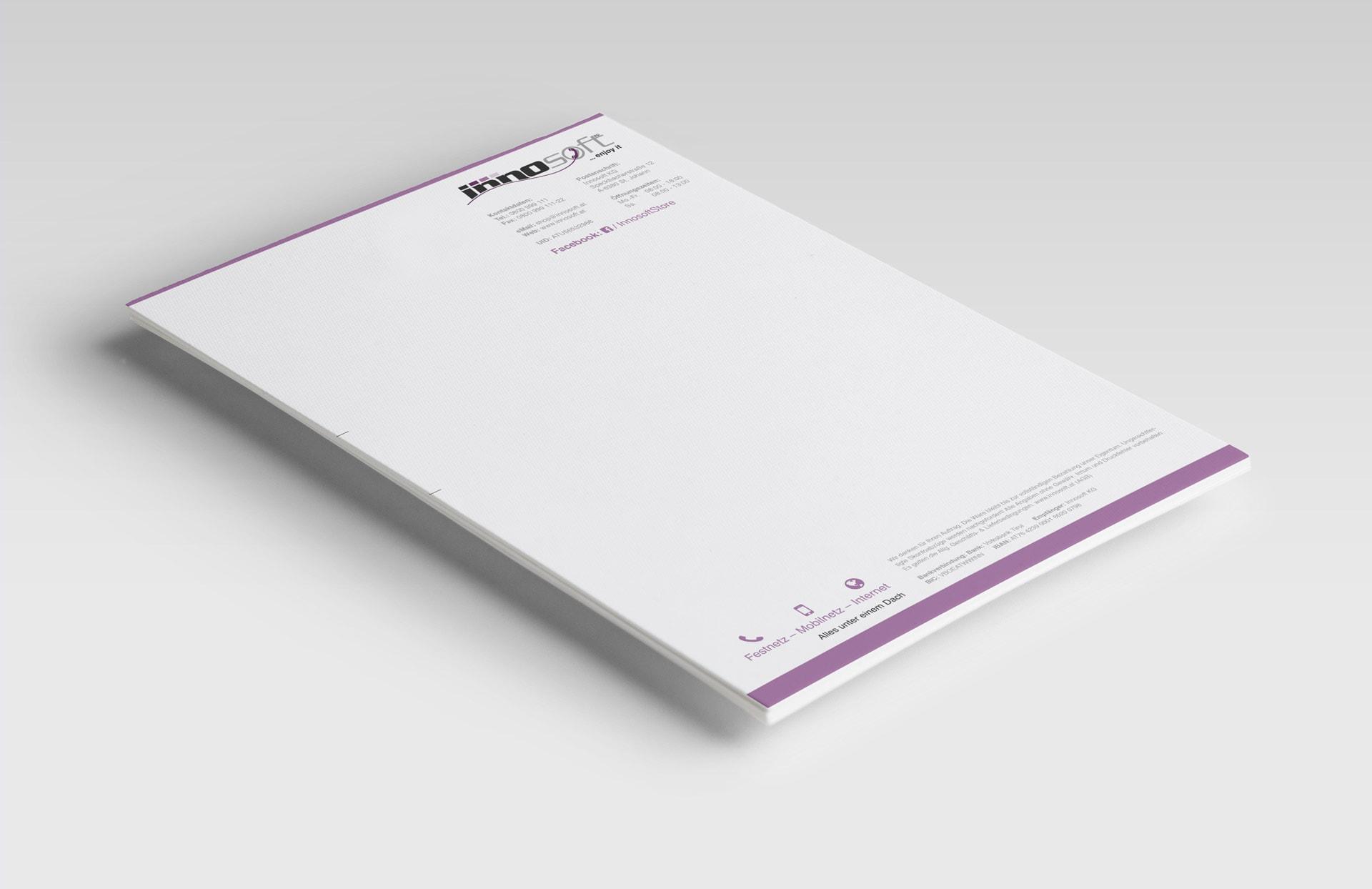 Innosoft KG Briefpapier