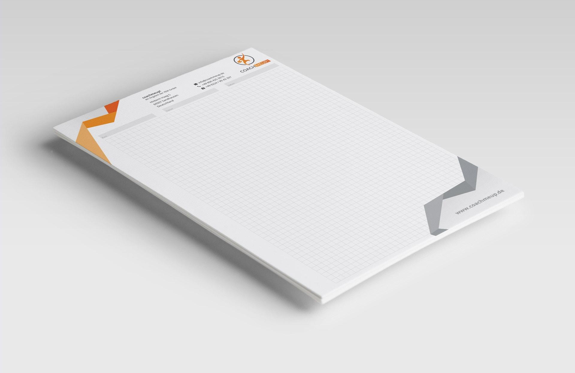 YEM GmbH Schreibblock karriert A4