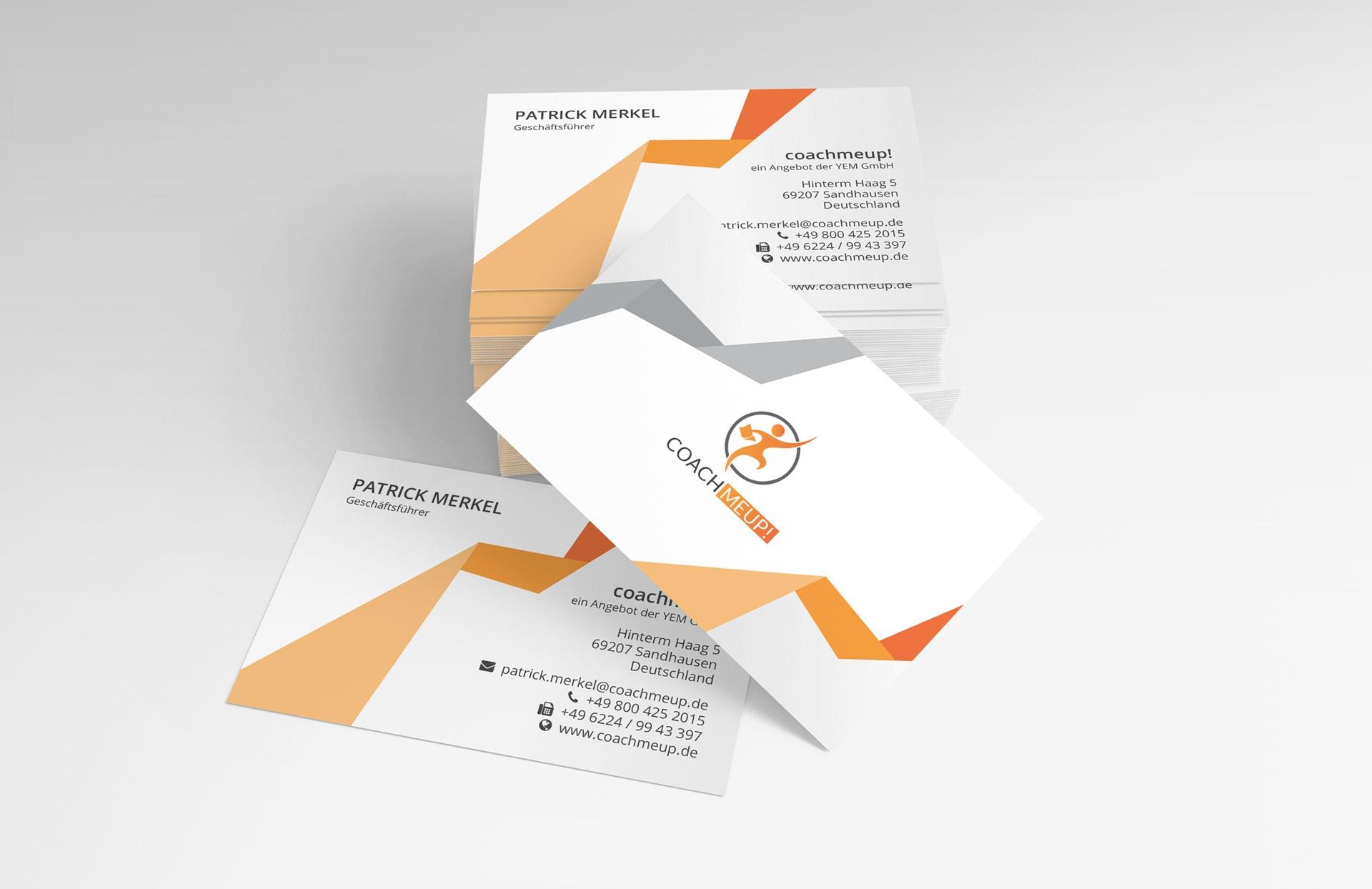 YEM GmbH Visitenkarten